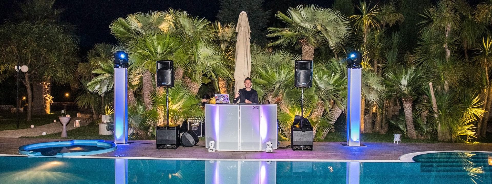 DJ e artisti nozze | Lo spettacolo luci di Danny Dj