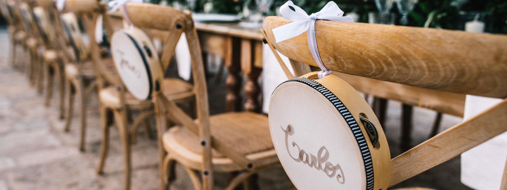 Tema matrimoni in Puglia 2021 | Tamburelli Personalizzati Matrimonio