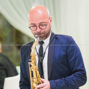 Sassofonista per band live matrimonio in puglia