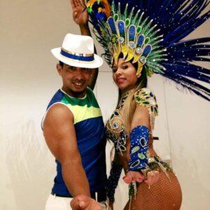 Coppia di ballerini brasiliani