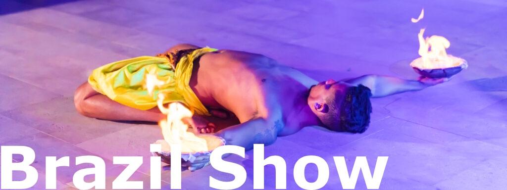Matrimonio con ballerine brasiliane, ballerini capoeira e spettacolo del fuoco brasil show matrimonio
