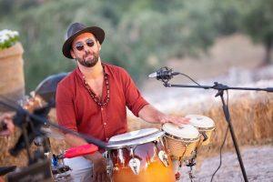 Ugo Custodero percussionista matrimoni Puglia