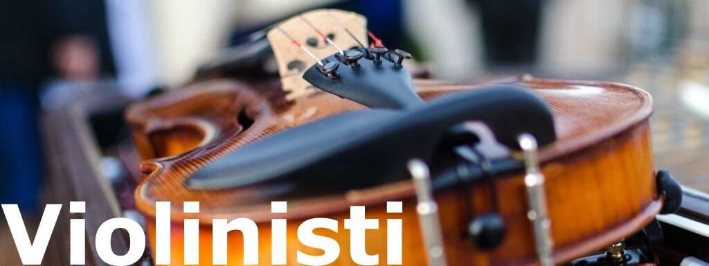 Violino poggiato sulla custodia